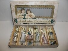 Katherines Collection VICTORIAN Ornaments ANGELS Retired Set Of 6 MIB