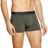 HOM Men's Boxer Shorts HO1 BOXER INDIGO 400221 KHAKI GREEN Underwear