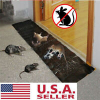 Large Size Mice Mouse Rodent Glue Traps Board Super Sticky Rat Snake Bugs Safe *