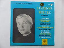 """25 cms 10"""" LUCIENNE DELYLE chante I love Paris  Ses grands succes Vol 2 5370 TRS"""