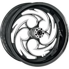Rc Components Savage Wheel for Harley-Davidson 0202-1576 Rear Black/Natural
