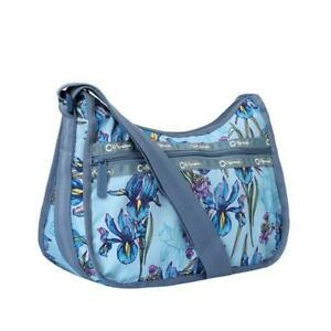 LeSportsac ReCycled Re-Classic Hobo Crossbody Bag in Eco Iris Garden NWT