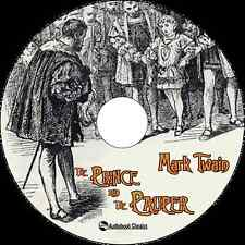 The Prince and the Pauper - Unabridged MP3 CD Audiobook in paper sleeve