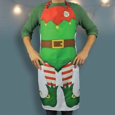 Adult Elf Apron Novelty Christmas Kitchen Cooking Gift