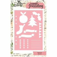 Everyday Journaling Seasonal Stencil | The Seasonal Collection