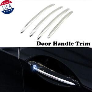 Chrome Side Door Handle Cover Stripe Trim For BMW 5 Series 520i 528i 530i 535i