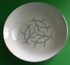 "Taylor Smith Taylor Versatile Blue Twig Salad Dish Side 6 1/2"" Diameter Branches"