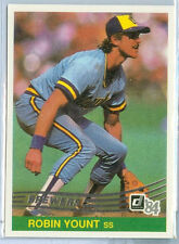 1993 DONRUSS Robin Yount SP '84 COMMEMORATIVE ANNIVERSARY EDITION CHASE CARD #2