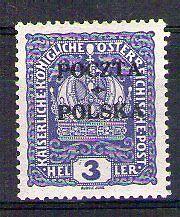 POLOGNE - POLSKA Yvert n° 74 neuf avec charnière