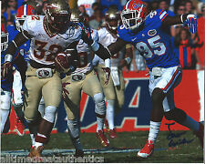 FLORIDA STATE JAMES WILDER JR SIGNED BCS NATIONAL CHAMPIONS 8X10 PHOTO W/COA A