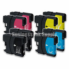 8 PACK LC61 LC-61 Generic Ink Cartridge for brother DCP-145C MFC-250C MFC-255CW