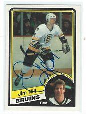 Jim Nill Signed 1984/85 O-Pee-Chee Card #11