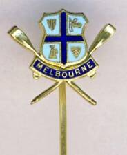 old MELBOURNE ROWING Club PIN Badge Australia