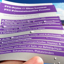 A1 PVC Poster / Plakate - Druck / drucken - wasserfest