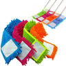 Microfibre Extendable Floor Mop Cleaner Sweeper Head Wet Dry Cleaning Colors New