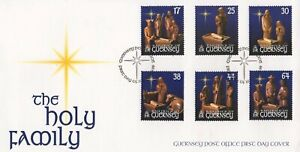 GUERNSEY THE HOLY FAMILY 1999 FIRST DAY COVER FDC - NO ADDRESS