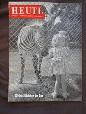 Heute 90 1949 Illustrierte Comic Micky Maus Bundestagswahl Tierpark Hellabrunn