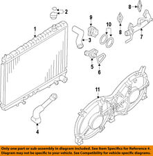 NISSAN OEM Cooling System-Water Outlet 110603NT0A