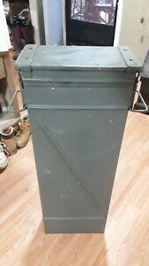 Large Metal US Military Ammo Box