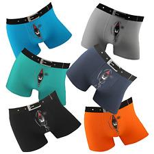 Boxershorts 4 Stück Herren Men Boxer Shorts Retro Sport Unterhose lustig sexy