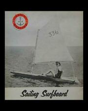10' Sailing Paddleboard How-To build Plans cheap + easy