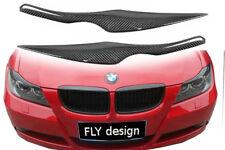 für BMW E91 Kombi CARBON boeser blick scheinwerfer blende shürze eye brows lid