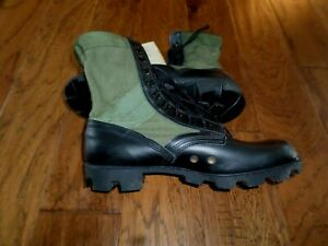 U.S MILITARY ISSUE JUNGLE BOOTS PANAMA SOLE RO SEARCH SPIKE PROTECTIVE 10R NEW
