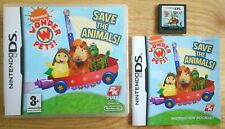 Wonder Pets Save The Animals - Nintendo DS game: Lite / DSi / 2DS / 3DS - PAL