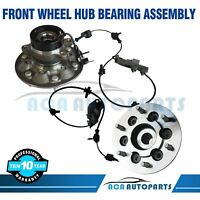 (2) Front Wheel Bearing & Hub Assembly For 04 - 08 Chevy Colorado GMC Canyon 4x4