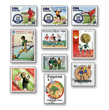 KASKOL1048 Football 10 pcs stamped
