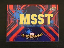 2017 UD Spider-Man Homecoming RB-7 Midtown School Science WALMART EXCLUSIVES