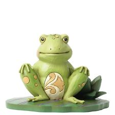 Heartwood Creek Jim Shore 4037670 Bounce with Me Frog on Lily Pad