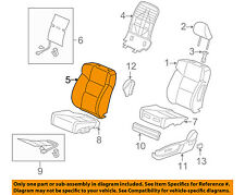 Acura HONDA OEM 12-14 TSX Front Seat-Cushion Cover-Top Back Left 04815TL2A02ZA