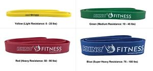 Champion Sports Stretch Training / Exercise Bands, Multiple Resistance Levels