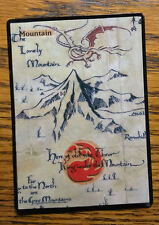 Magic the Gathering MTG altered art Lord of the rings Hobbit The Lonely Mountain
