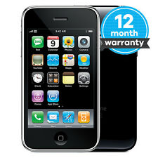 Apple iPhone 3GS - 8GB - Black (O2 Network) Smartphone Good Condition