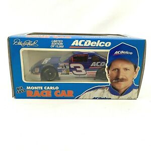 Dale Earnhardt #3 ACDelco Japanese Race Edition 1:24 Diecast Monte Carlo Car NOS