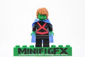 MISS MARTIAN Custom Minifig DC Hero Teen Titans Justice League on LEGO Bricks