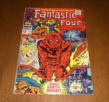 FANTASTIC FOUR COMIC BOOK No. 77  - SHALL EARTH ENDURE?