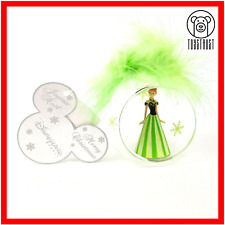 More details for disney anna frozen hanging ornament glass bauble christmas tree decoration xmas