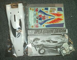 New Painted Tamiya RC 47438 Super Storm Dragon Body Set, Part, Option for Hornet