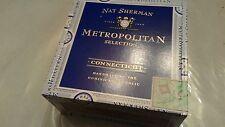 Nat Sherman Cigar Wood Box
