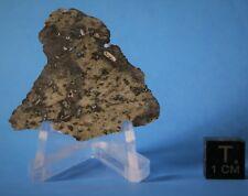 DAG 1037 martian meteorite great shock vein and vesicles 76x40mm my largest left