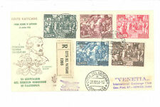 FDC VENETIA VATICANO CALCEDONIA 31-10-1951