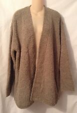 Pure Jill Brown Open Front Cardigan Sweater Size Large