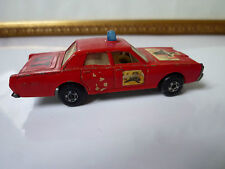 Matchbox n°59 Mercury Pompier Made in England