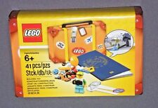 LEGO Travel Building Suitcase 5004932 Promo Set w Passport, Minifigure