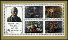 South Africa 651a S/S, MNH. Paintings by Frans David Oerder, 1985