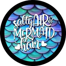 Salty Hair and Mermaid Hair Jeep Wrangler Liberty RV Trailer Spare Tire Cover