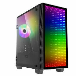 Fast Gaming PC Core i7 3770 16GB RAM 240GB SSD + 1TB HDD Win 10 WiFi GTX 1050Ti